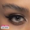 لنز طوسی سبز لنز شو | لنز چشم | لنز طبی | 09127306039